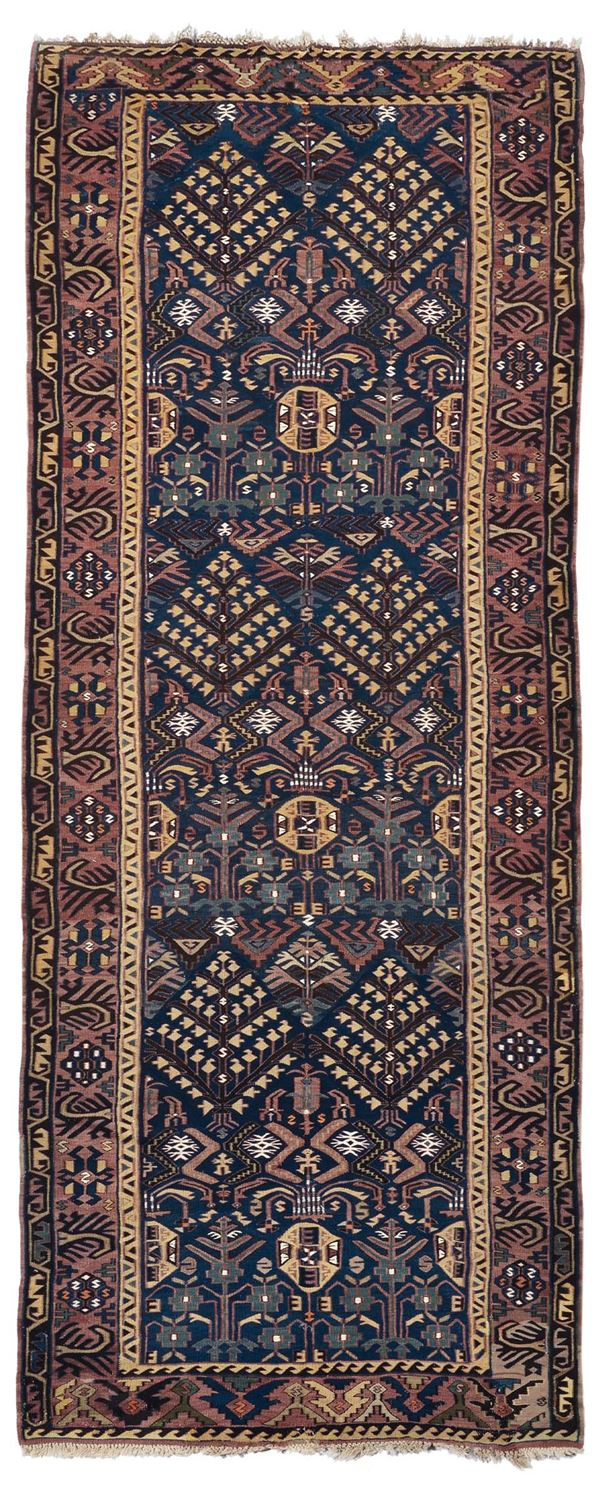 A very fine Daghestan kilim late 19th early 20th century.Very good condition.
