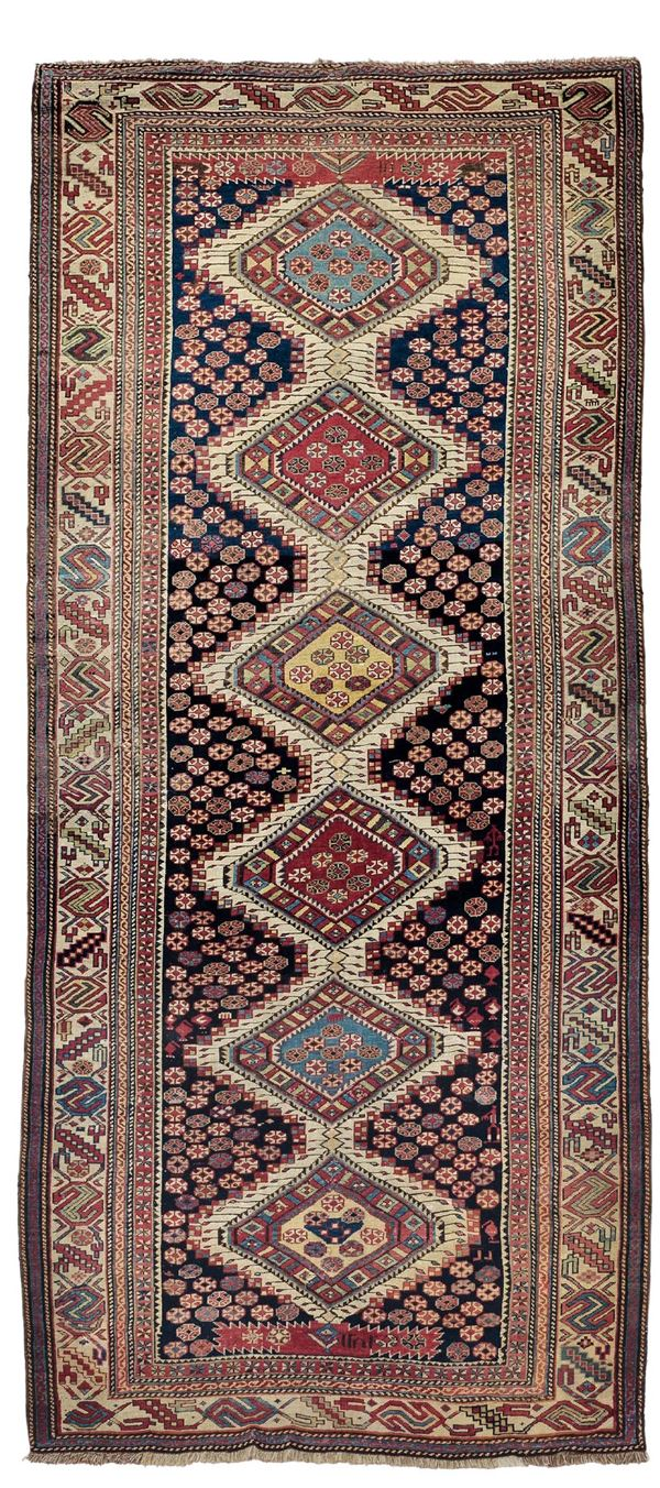 A shirvan rug late 19th century. Dated overall very good condition.