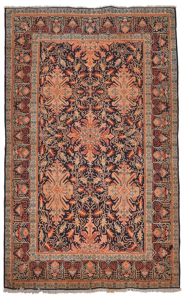 A persian carpet Keshan, mid 20th century. Overall very good condition.