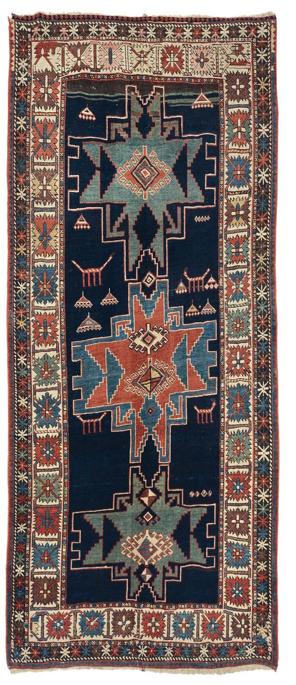 A caucasian rug Shirvan end 19th early 20th century. Overall very good condition.