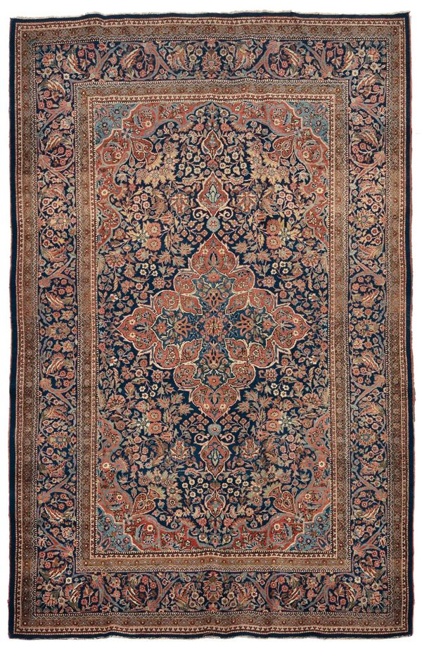 A persian carpet Keshan, 20th century. Overall very good condition.