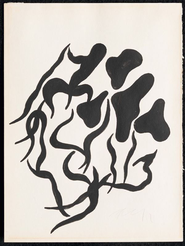 Jean Arp (1886-1966) Automatic drawing, 1916