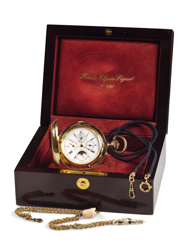 AUDEMARS PIGUET WATCH WITH  COMPLICATIONS  No. 4172. Made in 1892. Extremely fine and important, large,  [..]