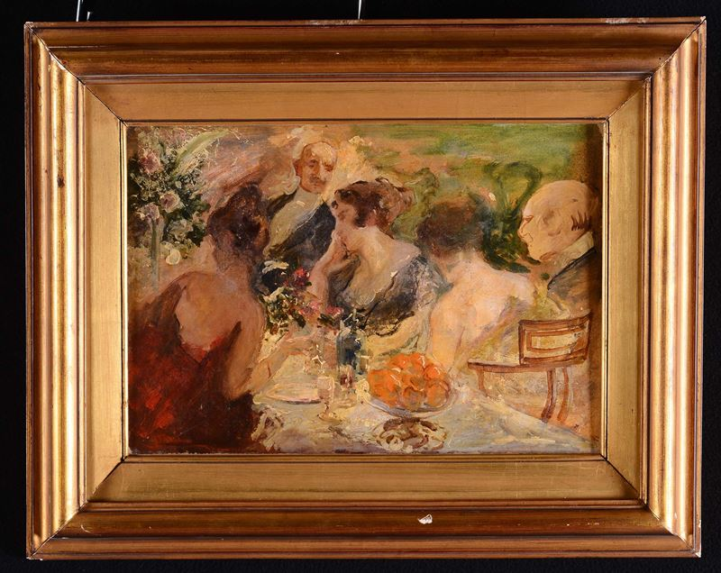 Sergio Romiti (1928-2000), attribuito a<br>Banchetto  - Auction Furnitures, Paintings and Works of Art - Cambi Casa d'Aste