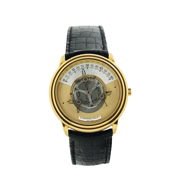 Audemars Piguet, Star Wheel Automatic, movement No. 376407, case No. D 11557, Ref. 25720. Made in the  [..]