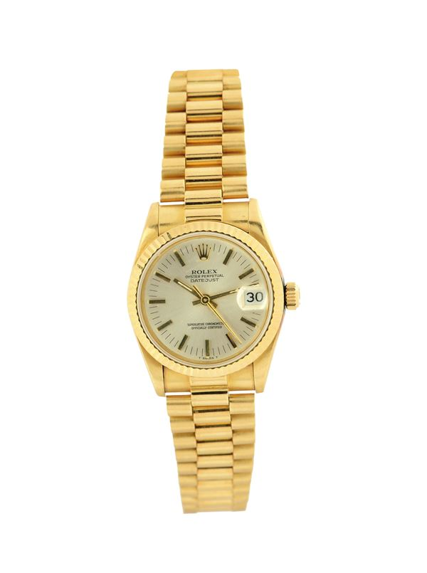 Rolex, Oyster Perpetual Datejust, Superlative Chronometer Officially Certified, case No.9108175 Ref.  [..]