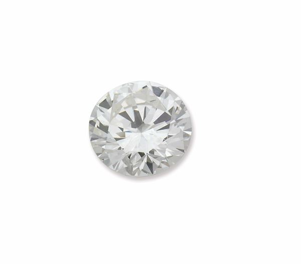 Unmonted brilliant-cut diamond weighing 7,11 carats. R.A.G report n° DR1108/16