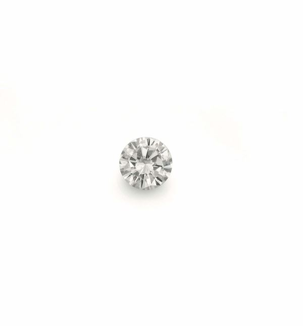 Unmounted round brilliant-cut diamond weighing 1,97 carats. R.A.G report n° DR11003/16