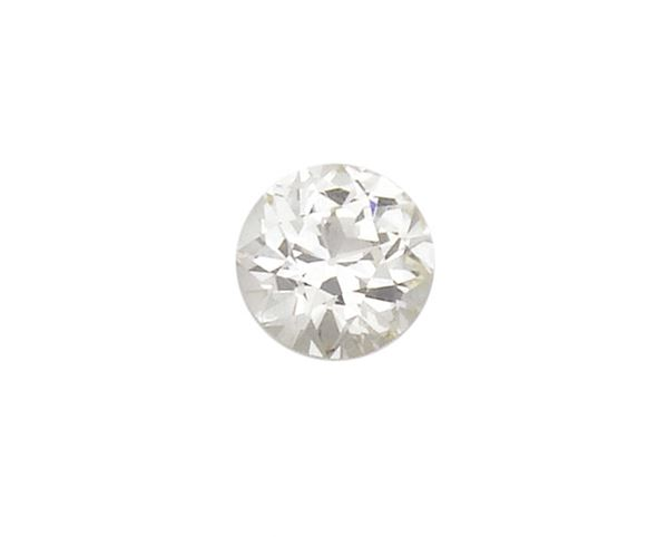 Unmonted old-cut diamond weighing 3,32 carats. R.A.G. report