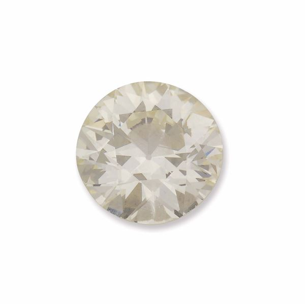 Umounted old-cut diamond weighing 6,92 carats. R.A.G. report