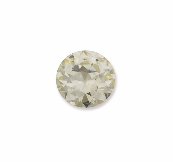 Unmonted old-cut diamond weighing 3,62 carats. R.A.G report
