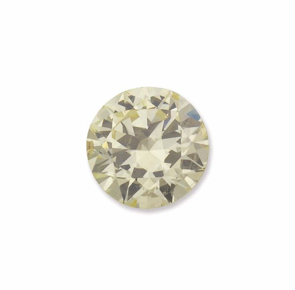 An unmounted old-cut diamond weighing 9,16 carats. R.A.G report
