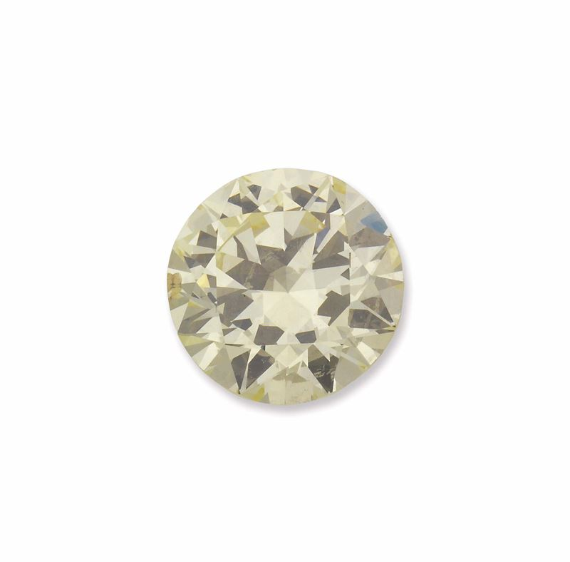 An unmounted old-cut diamond weighing 9,16 carats. R.A.G report  - Auction Fine Jewels - I - Cambi Casa d'Aste
