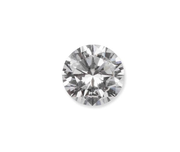 Unmounted brilliant-cut diamond weighing 0.81 carats