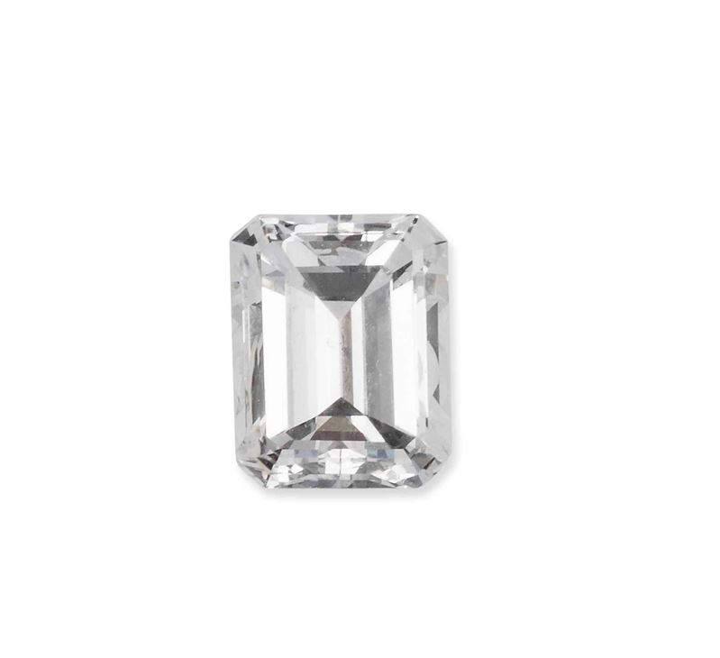 Unmounted emerald-cut diamond weighing 1.18 carats  - Auction Vintage, Jewels and Bijoux - Cambi Casa d'Aste