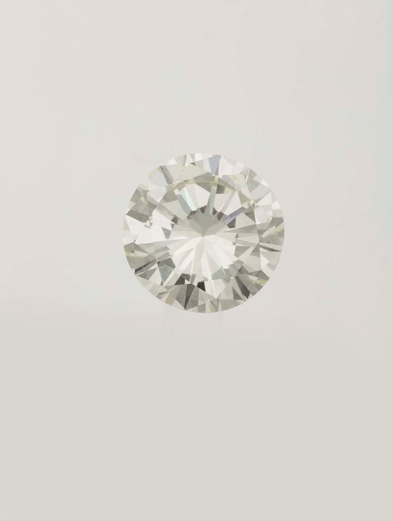 Unmounted old-cut diamond weighing 6.33 carats  - Auction Fine Jewels - Cambi Casa d'Aste