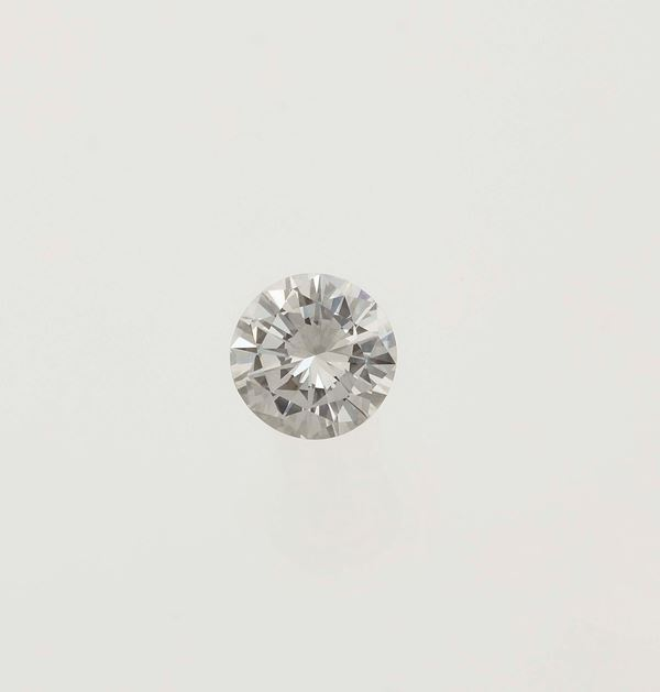 Unmounted brilliant-cut diamond weighing 1.30 carats
