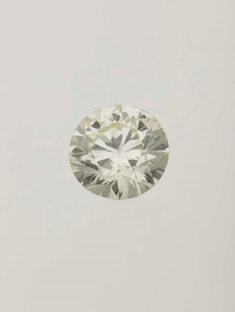 Unmounted old-cut diamond weighing 8.51 carats  - Auction Fine Jewels - Cambi Casa d'Aste