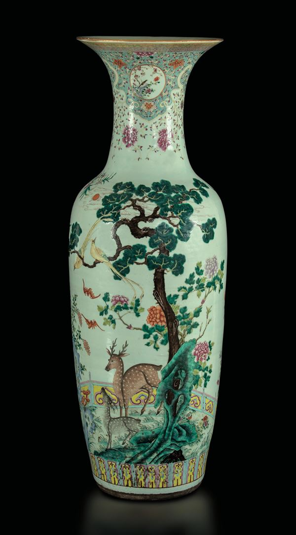A porcelain vase, China, Daoguang period