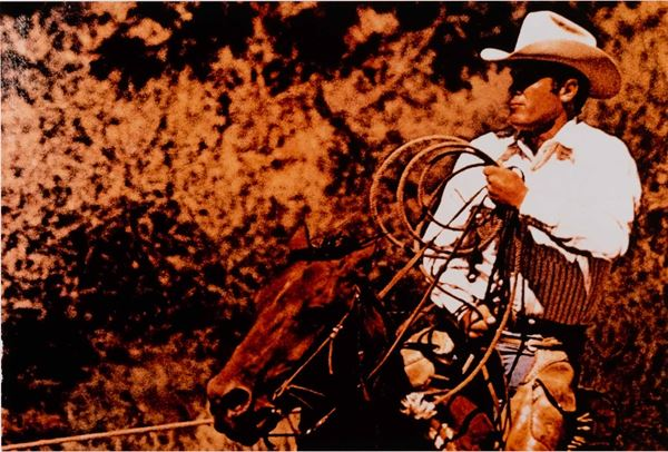 Richard Prince (1949) Senza titolo (from cowboys & girlfriends series)