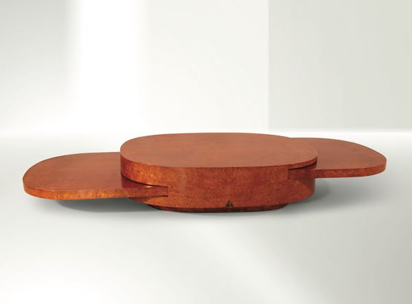 G. Crespi, Ellissi table, Italy, 1976