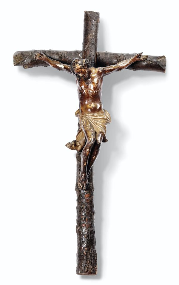 A crucifix, Southern Italy, 1700s