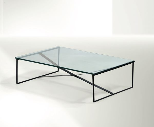 F. Albini, a low table, Italy, 1940 ca.