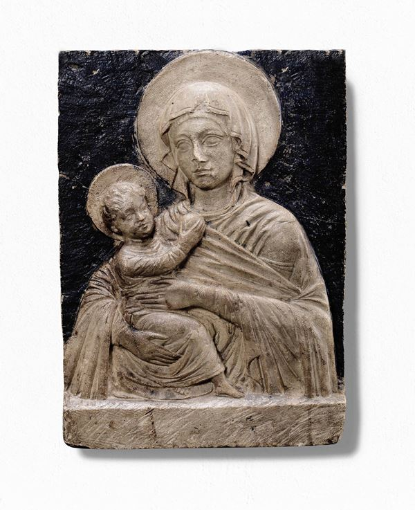 An Istrian stone relief, 15-16th century