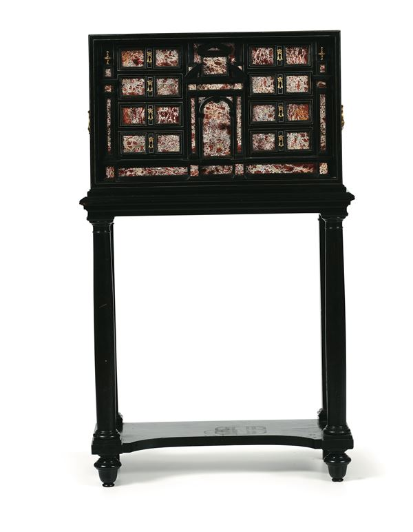 A coin cabinet, Italy, 17-18th century