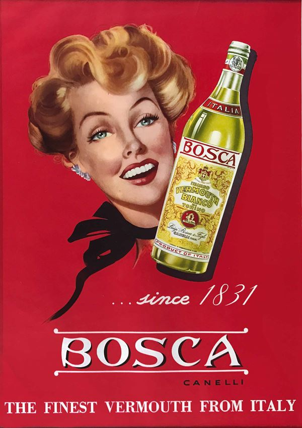Unknown artist BOSCA CANELLI THE FINEST VERMOUTH FROM ITALY