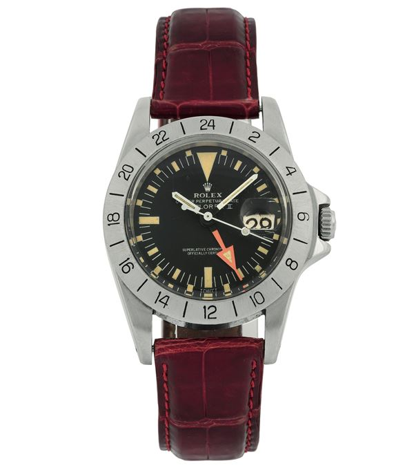 Rolex, Oyster Perpetual Date, Explorer II, Superlative Chronometer, Officially Certified, case No. 4326071  [..]