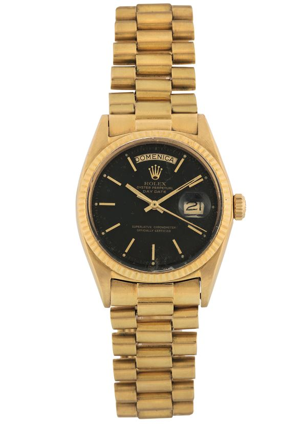 ROLEX, Oyster Perpetual, Day-Date, Superlative Chronometer Officially Certified,  case No. 680227, Ref.  [..]