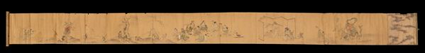 A painting on paper, China, Qing Dynasty