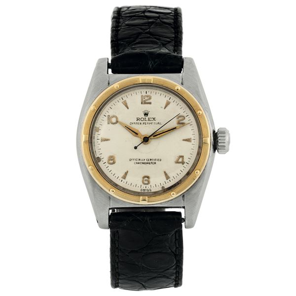 ROLEX, Oyster Perpetual, Officially Certified Chronometer, BUBBLE BACK