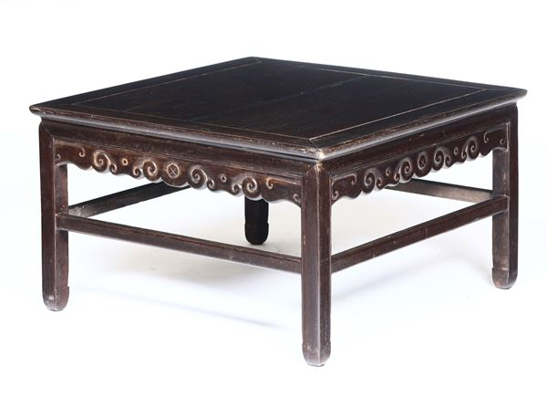 A Homu table, China, Qing Dynasty, 1800s