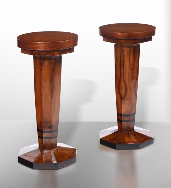 Two wooden tables, Italy, 1930 ca.