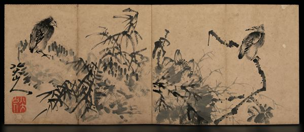A booklet of drawings, China, Qing Dynasty