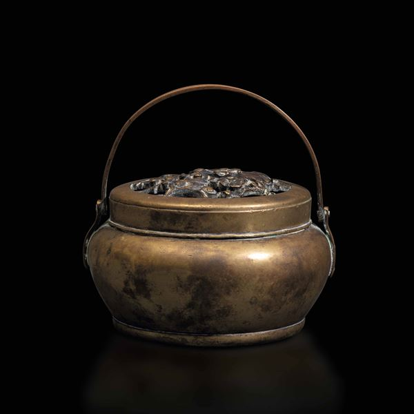 A bronze censer, China, Qing Dynasty