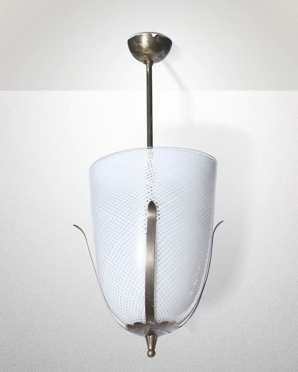 A pendant lamp, Italy, 1940s