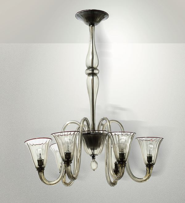A pendant lamp, Italy, 1930s