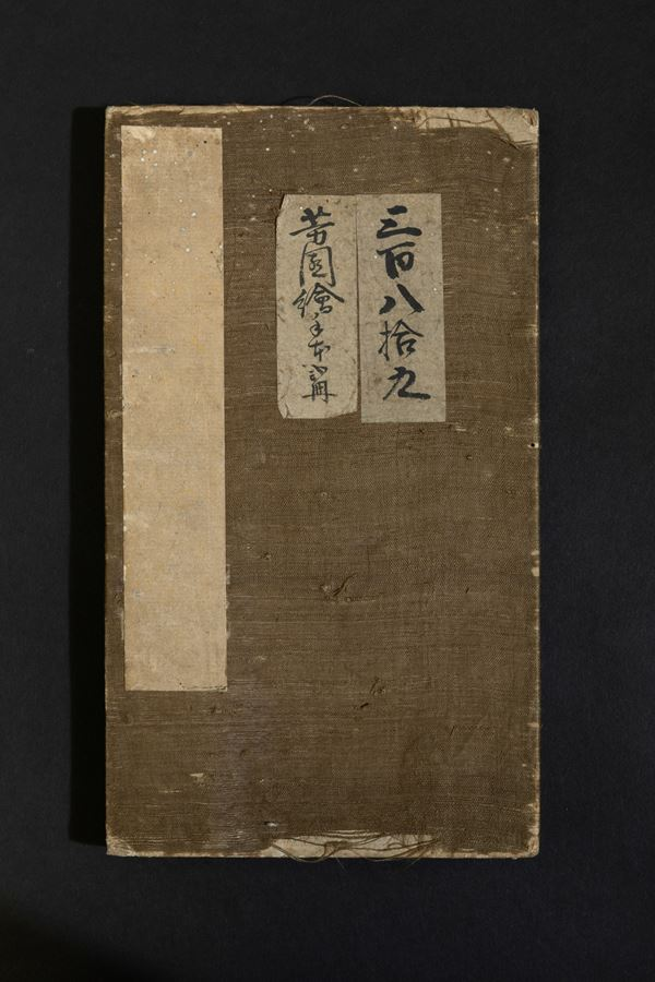 A book of drawings on paper, China, Qing Dynasty