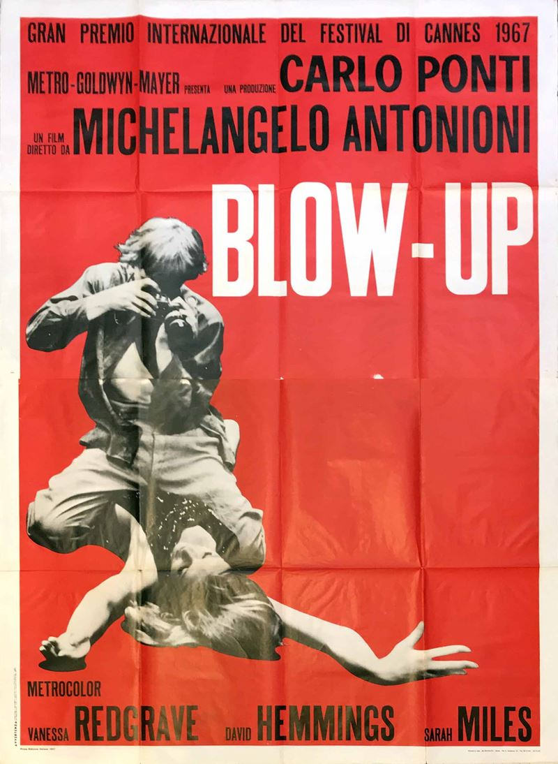 Anonimo<br>BLOW-UP  - Auction Vintage Posters - Cambi Casa d'Aste