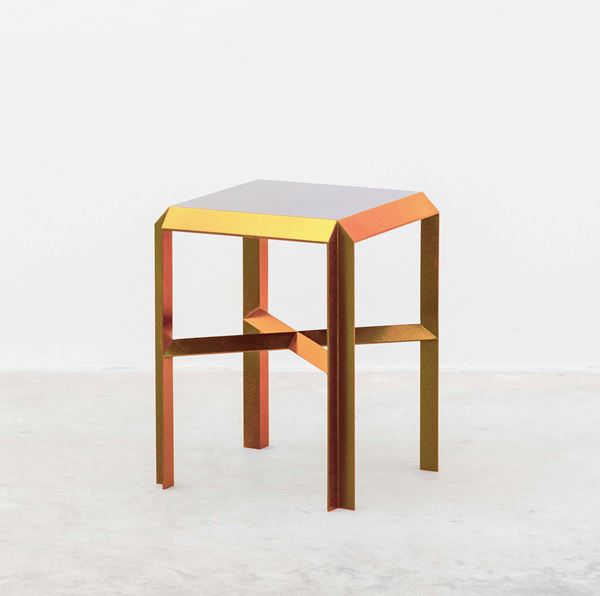 Marco Campardo with SEEDS Gallery ELLE STOOL, 2020