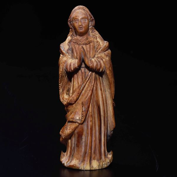 An ivory sculpture, Portugal or Philippines, 1700s