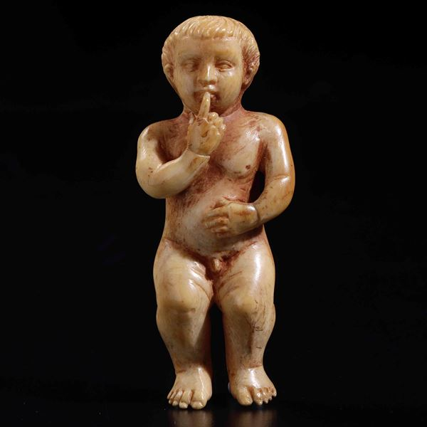 An ivory baby Jesus, Russia Kholmogory (?), 1700s