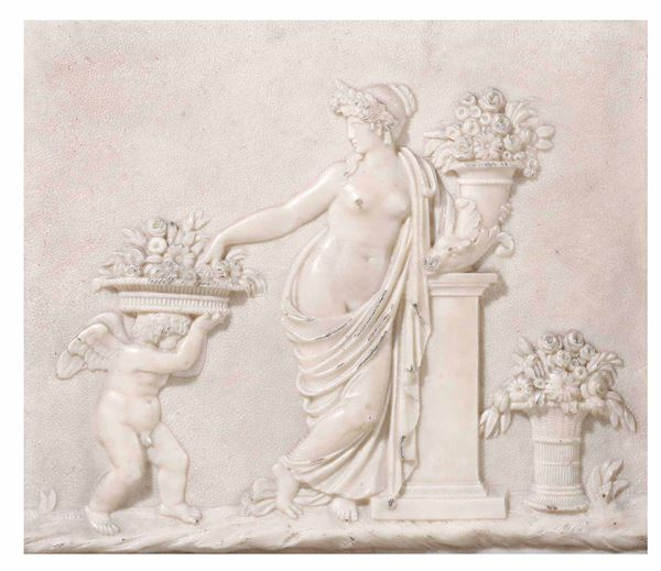 A terracotta allegory, Italy, 17-1800s