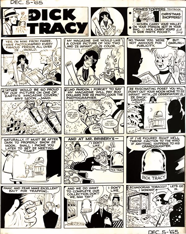 Chester Gould (1900-1985) Dick Tracy – Crimestoppers
