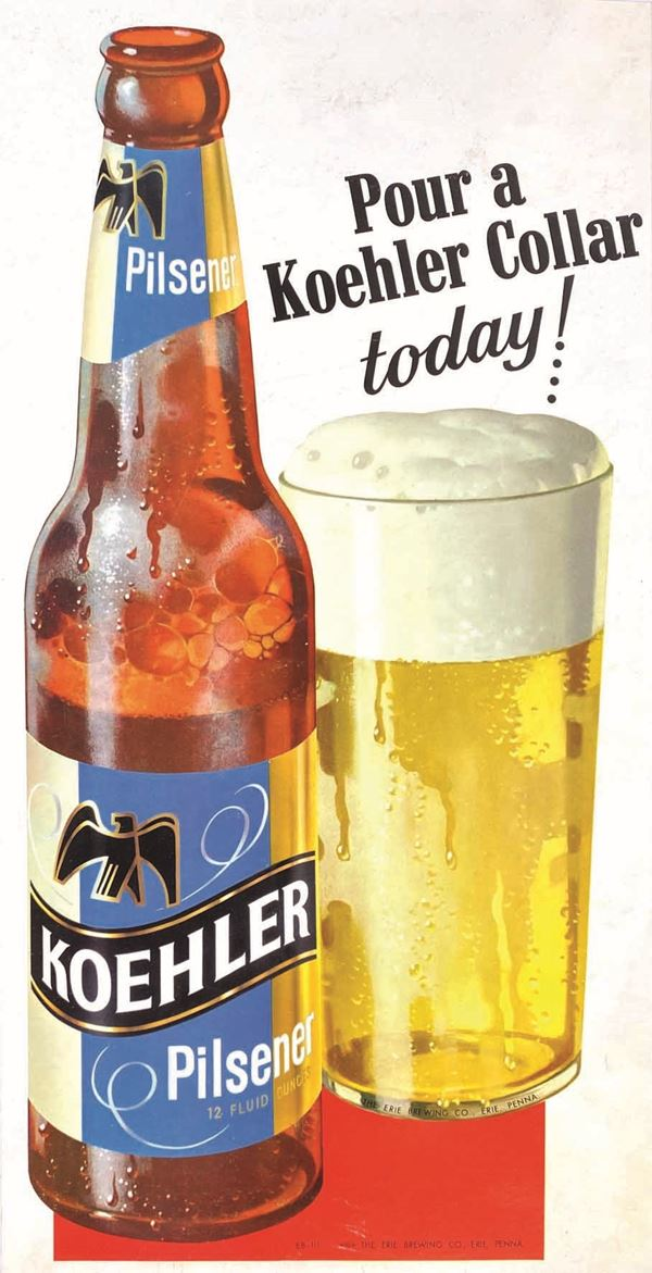 Anonimo POUR A KOHLER (BEER) COLLAR TODAY!