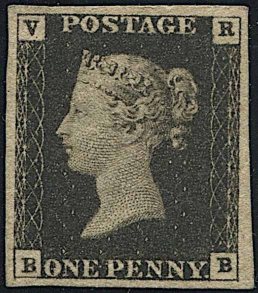 1840, GREAT BRITAIN, OFFICIAL STAMP